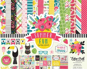 12 x 12 Collection Kit ~    Summer Fun  ~      NEW  (#3918)