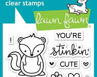 Lawn Fawn --   Stinkin' Cute  -- NEW -- (#4185)