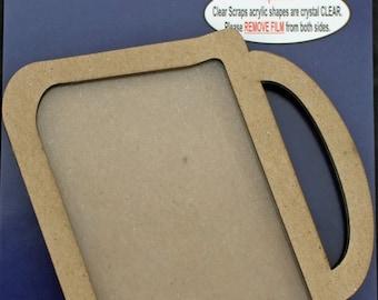 Clear Scraps -- Mini Shaker  --  Purse  -- NEW  (#3955)
