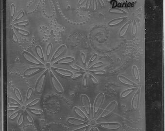 Darice Embossing Folder -- New -- Large Petal -- (#3044)