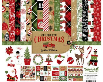 12 x 12 Collection Kit ~ Celebrate Christmas  ~    NEW  (#4029)