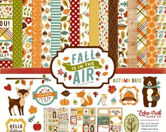 12 x 12 Collection Kit ~    Fall Is In The Air   ~      NEW  (#4246)