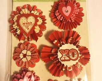 K & C - Circus Valentine Medallion GA  - NEW - (#3019)