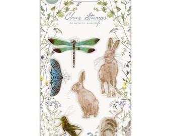 Craft Consortium -- Wildflower Meadow Stamp set  -- NEW  -- (#3566)