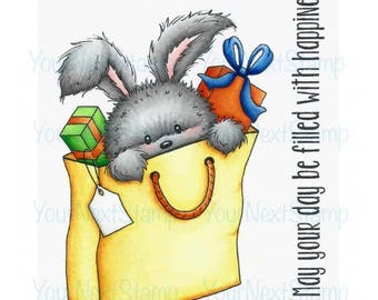Your Next Stamp -- Rosie Rabbit Gift -- NEW -- (#2678)