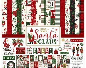 12 x 12 Collection Kit ~  Here Comes Santa Claus  ~    NEW  (#4032)