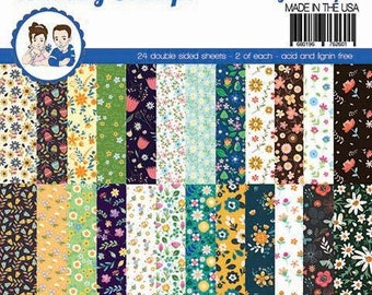 6 x 6 Paper Pad ~   Calico   ~ Double sided NEW (#3885)