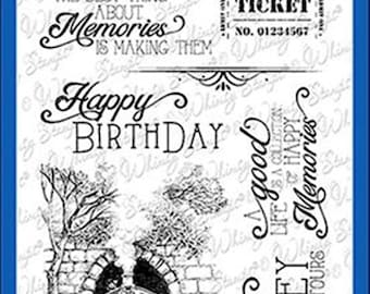 Whimsy Stamps -- Enjoy the Journey -- NEW -- (#3183)