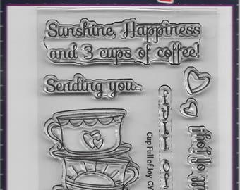 Your Next Stamp -- Cup Full of Joy -- NEW -- (#2679)