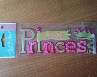 Jolee's Boutique --  Little Princess   --  1 piece  --   dimensional sticker -- NEW   (#1744)