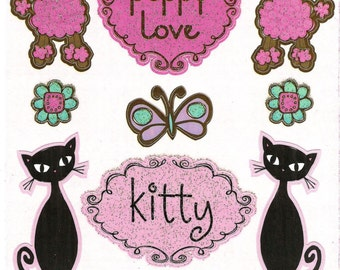 Reminisce  -- Girly Girl #2 Stickers  --  NEW  --  (#982)  -- Girl Stickers