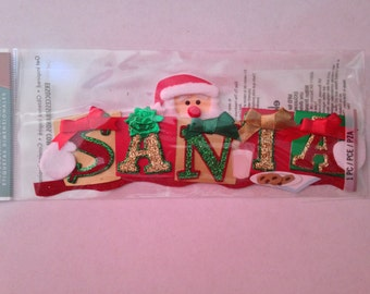 Jolee's Boutique --  Santa  --  1 piece  --   dimensional sticker -- NEW   (#1749)