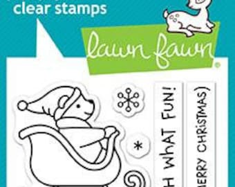 Lawn Fawn --  Oh What Fun   -- NEW -- (#4172)