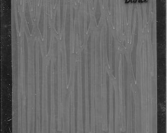 Darice Embossing Folder -- New -- Tree Trunks -- (#3041)