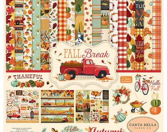 12 x 12 Collection Kit  ~    Fall Break  ~    NEW  (#3923)
