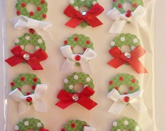 Jolee's Boutique -- Christmas Wreaths Repeat -- NEW --  (#1873)