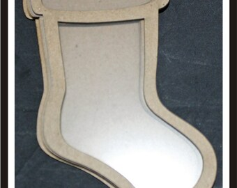 Clear Scraps -- Mini Shaker  --  Stocking  -- NEW  (#3952)