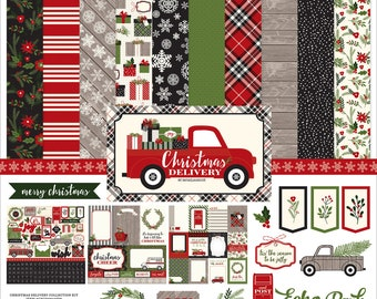 12 x 12 Collection Kit ~  Christmas Delivery  ~    NEW  (#4031)