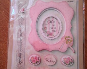 Craft n Craftin'  --  Wedding June Bride  -- NEW --   dimensional stickers  --  (#1737)