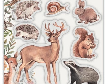 Craft Consortium -- Woodland Animals - Woodland Collection   -- NEW  -- (#4159)