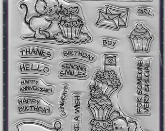 Your Next Stamp -- Cupcake Day  -- NEW -- (#2842)