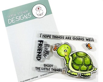 Gerda Steiner Designs -- Hello Friend Tortoise   -- NEW -- (#3986)