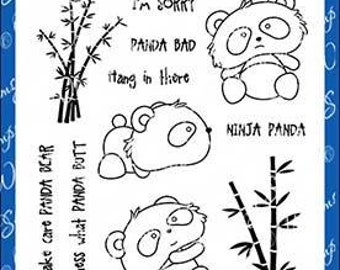 Whimsy Stamps --  Panda Butt   -- NEW  -- (#3593)