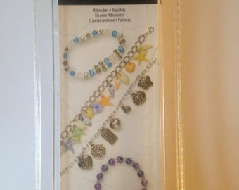 Cousin  --  Bracelet Jewelry Kit  --  NEW  --  Makes 4 different bracelets  --   (#920)