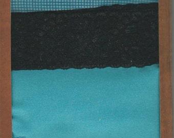 Laliberi  --  Fabric Strips  -- NEW  --  4 pieces  --  DIY Designs  -- Dark Assorted #2 -- (#862)