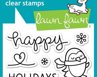 Lawn Fawn --  Winter Penguin   -- NEW -- (#4171)
