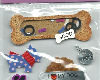 Mark Richards Brand  --   Dimensional Stickers  --  Dog  --  NEW  (#1124)