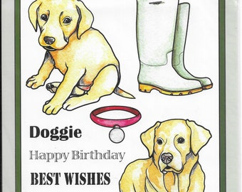 Craft UK Stamps --   Dogs 2 Set  -- NEW -- (#3651)
