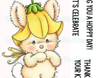 Your Next Stamp --  Bluebell Bunny  -- NEW  -- (#2391)