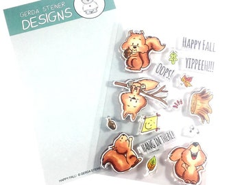 Gerda Steiner Designs --  Happy Fall   -- NEW  -- (#3193)
