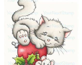 Your Next Stamp -- Furry Christmas Friends -- NEW  -- (#2596)