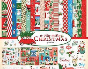 12 x 12 Collection Kit ~ A Very Merry Christmas  ~    NEW  (#3924)