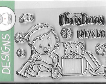 Gerda Steiner Designs --  Baby Boy Christmas  -- NEW -- (#3203)