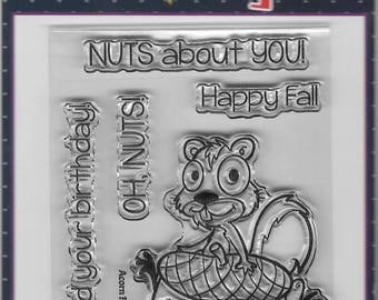 Your Next Stamp -- Acorn Fall Fun -- NEW  -- (#2576)