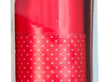 Martha Stewart Double Sided Craft Paper Roll  ~~  Red Dots  ~~   Double sided paper  ~~  NEW  (#1256)