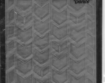 Darice Embossing Folder  --  New  --  Chevron  --  (#1656)