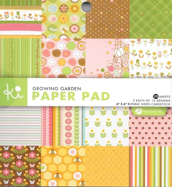Hampton Art Ki Paper Pad ~6 By 6-Inch ~Argyle ~ 32-pack ~ Card Stock