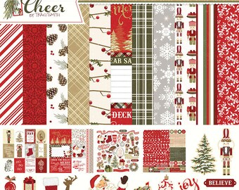 12 x 12 Collection  ~ Holiday Cheer  ~   Paperplay Photo  ~ NEW  (#2526)