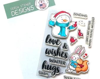 Gerda Steiner Designs --    Sending Hugs   -- NEW  -- (#4305)
