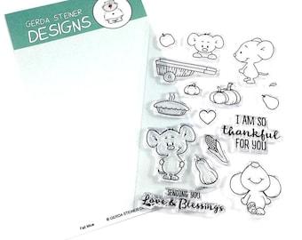 Gerda Steiner Designs --    Fall Mice   -- NEW  -- (#4301)