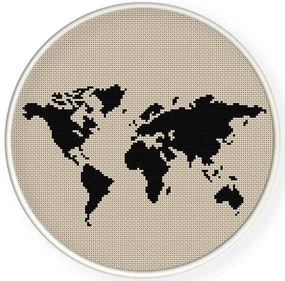 Instant downloadfree shippingcounted cross stitch pdfworld etsy zoom gumiabroncs Images