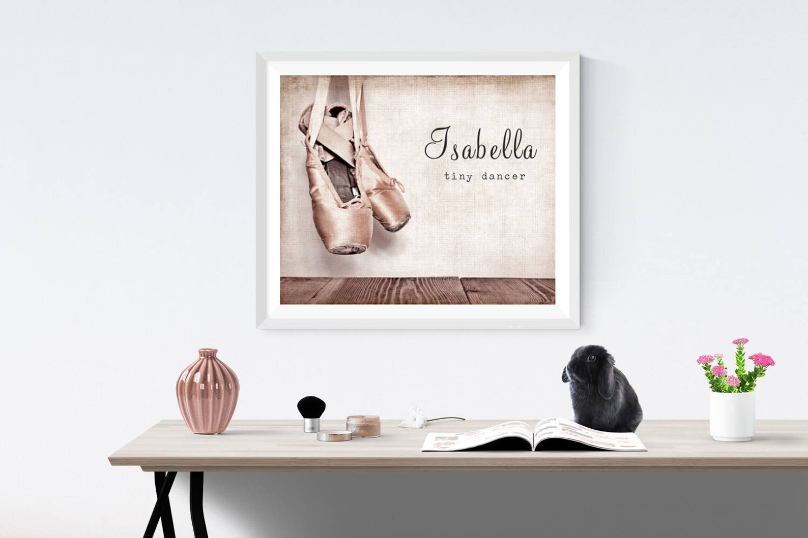 vintage ballet slippers, photo print, girls room decor, girls nursery, wall art, art decor, girls room ideas,