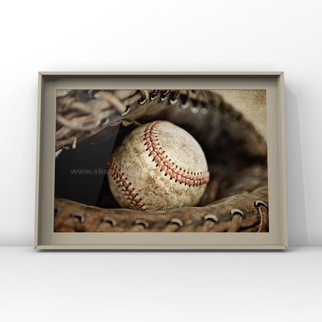 little boy room decor sports decor wood sign Baseball Wall Art playroom nursery baseball quote