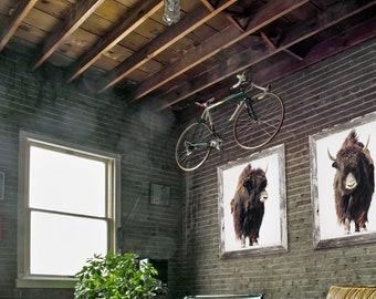 The Beast's Set of 2 Photo Art Prints or Canvas, Large Wall Art Print, Photography Print, Boho Decor, Modern Wall Art