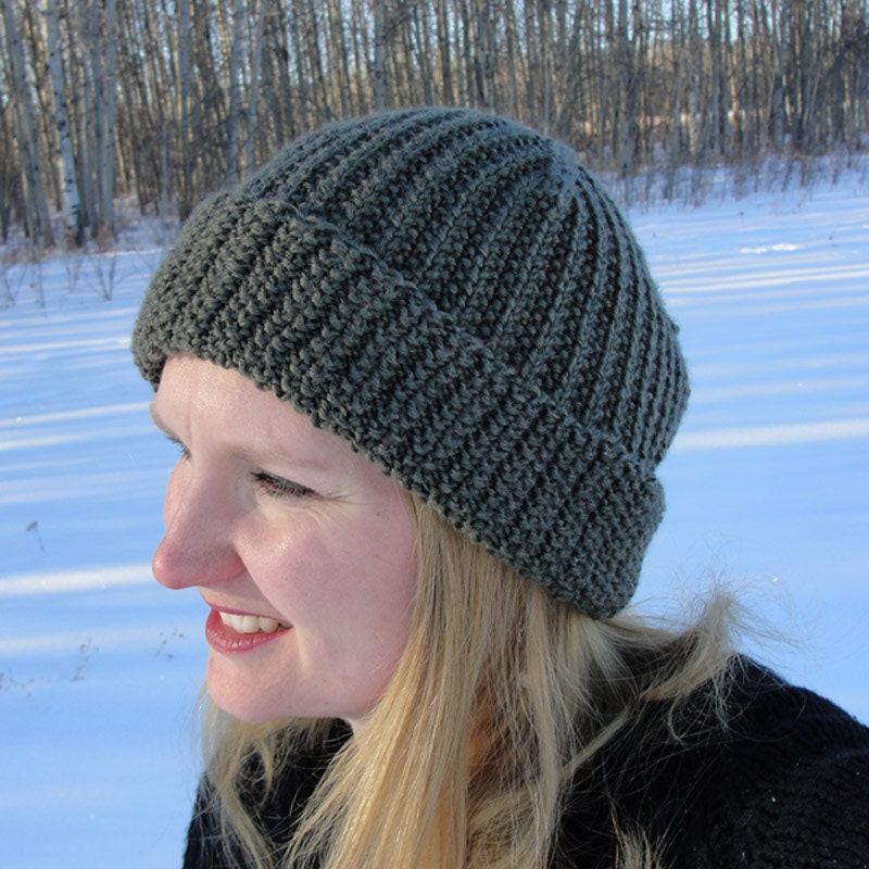 Knit HAT PATTERN - \