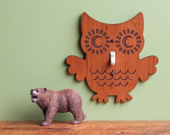 Owl Switch Plate Etsy